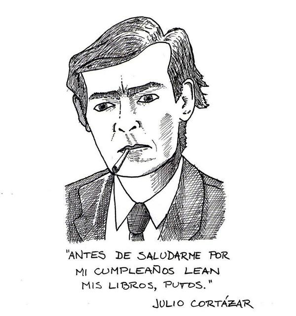 Cortázar por Matias Sinchich
