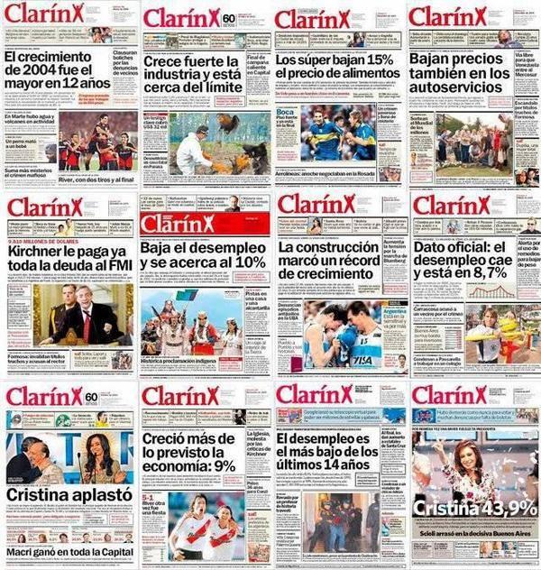 Clarín 2003/08